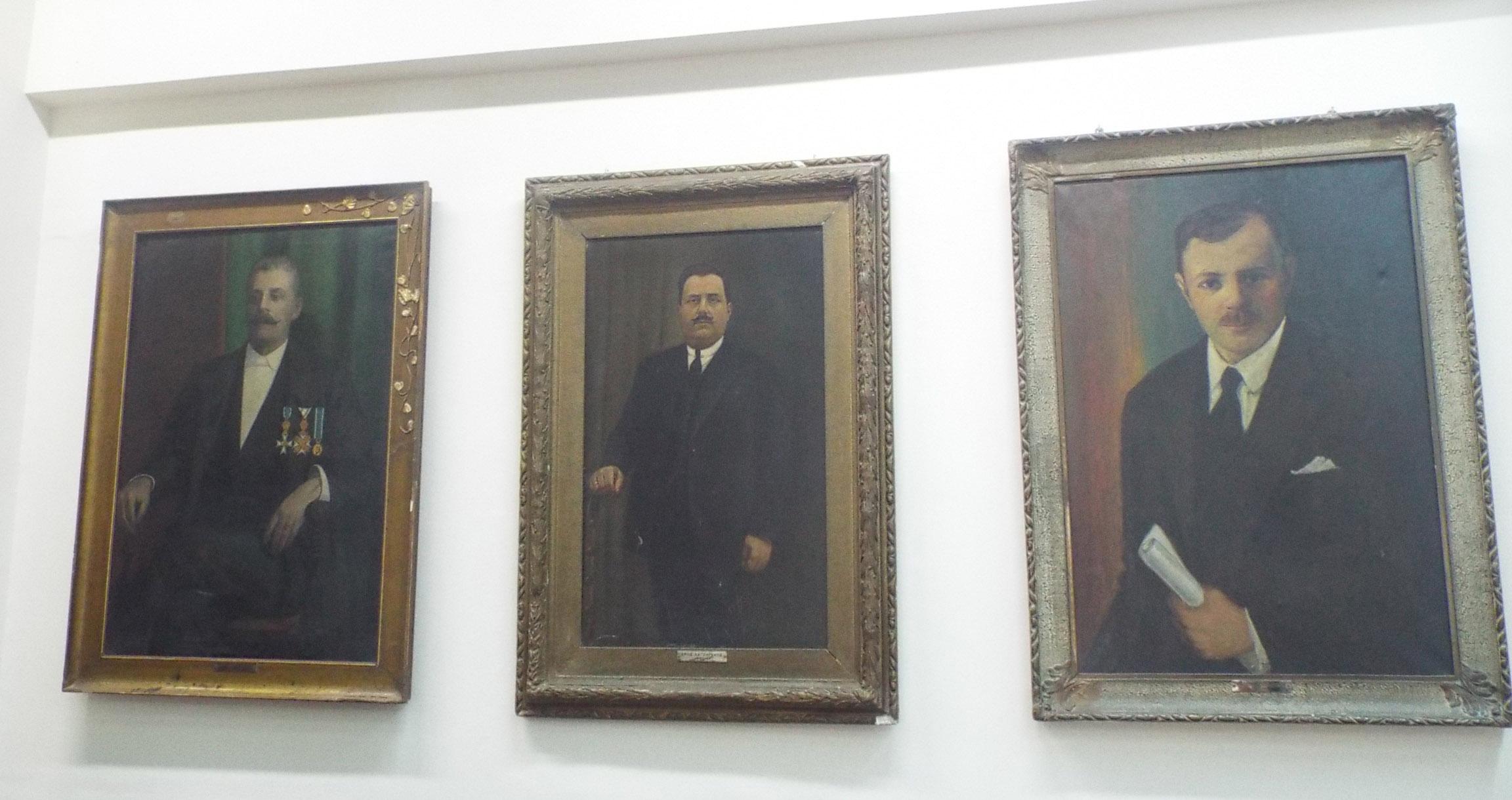 Οι Δήμαρχοι, Παναγιώτης Χατζηγάκης, Μιχάλης Χατζηγάκης, Θεοδόσιος Θεοδοσόπουλος.