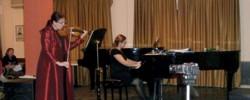 Ρεσιτάλ μουσικής δωματίου για βιολί και πιάνο