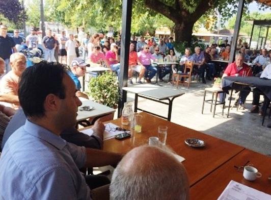 Βαλτινό: Με λαϊκή συνέλευση κινητοποιήσεις ενάντια στη μονάδα βιορευστών