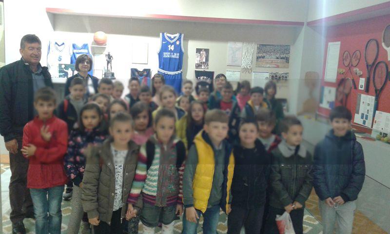 Το 32ο Δημοτικό Σχολείο στο Δημοτικό Ιστορικό Αθλητικό Μουσείο