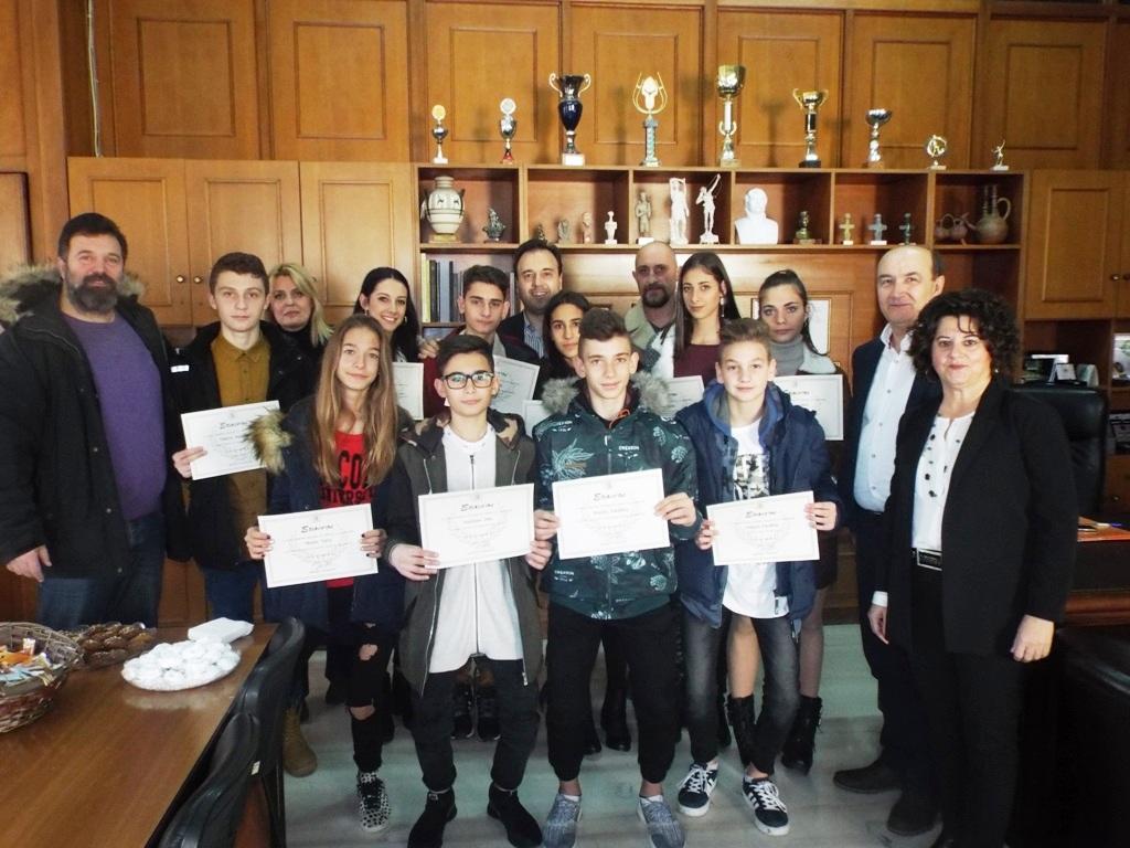 Επιβράβευση για πανευρωπαϊκές διακρίσεις στο Τάε Κβο Ντο