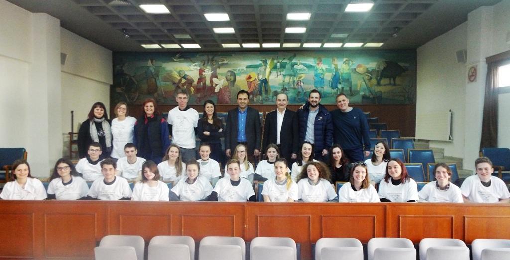 Νέα επίσκεψη Βέλγων μαθητών στα Τρίκαλα