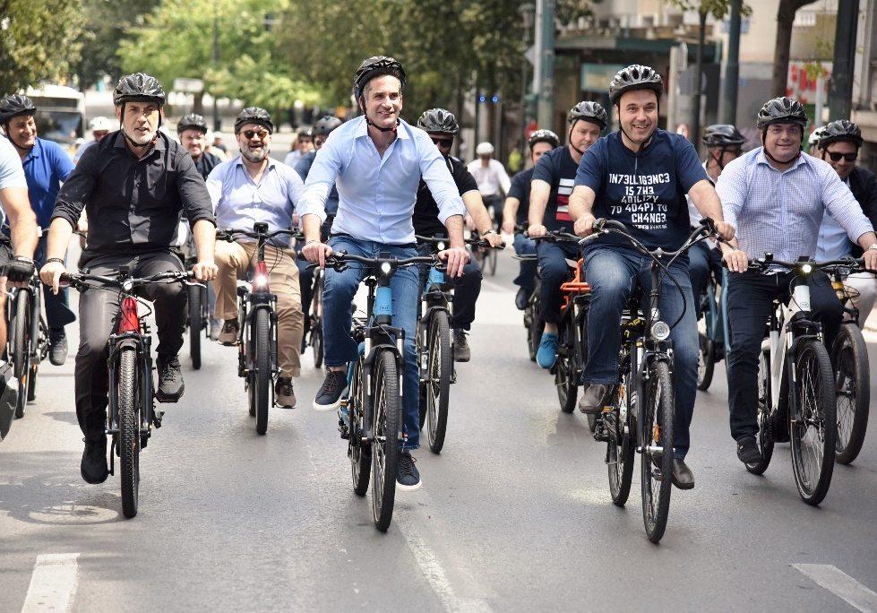 Παπαστεργίου: Με το ποδήλατο ονειρευόμαστε τις πόλεις που θέλουμε, πόλεις φιλικές και ανθρώπινες